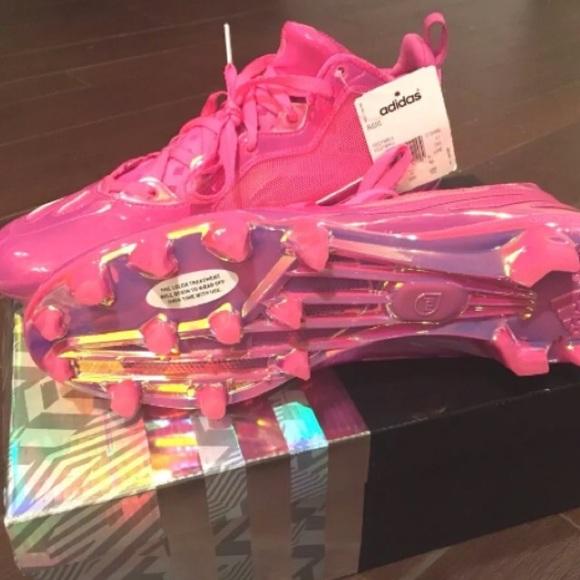 890c88b5f Deadstock NIB RGIII Breast Cancer Football Cleats. NWT. adidas